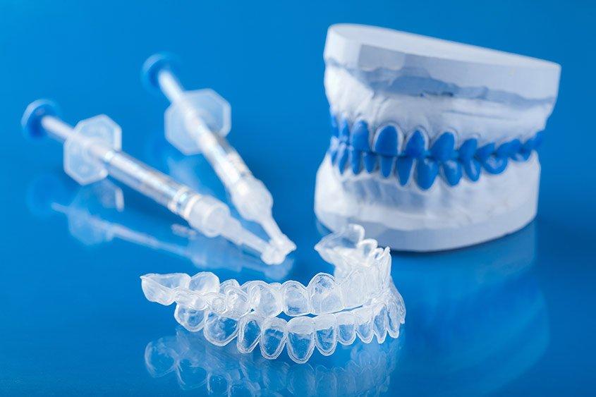 Tooth whitening kit at Torquay Dental