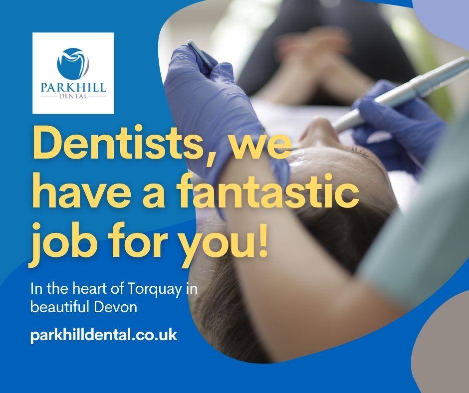 Associate dentist vacancy banner